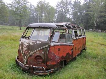 VW Camper Rust Removal Restoration